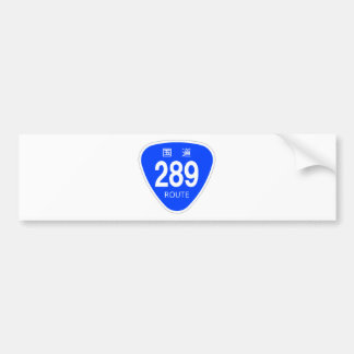 National highway 289 line - national highway sign bumper stickers