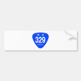 National highway 329 line - national highway sign bumper stickers
