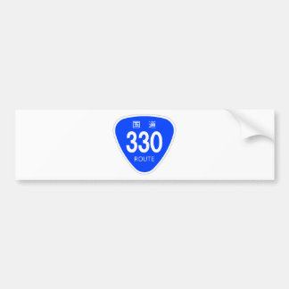 National highway 330 line - national highway sign bumper stickers