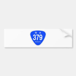 National highway 379 line - national highway sign bumper sticker