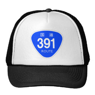 National highway 391 line - national highway sign cap