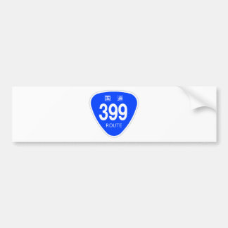 National highway 399 line - national highway sign bumper stickers