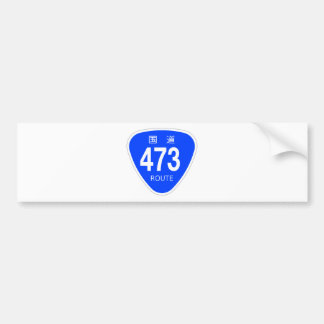 National highway 473 line - national highway sign bumper stickers