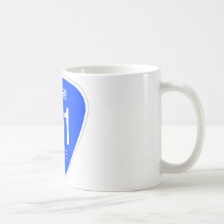 National highway 501 line - national highway sign coffee mugs