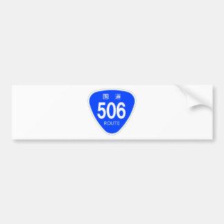 National highway 506 line - national highway sign bumper sticker
