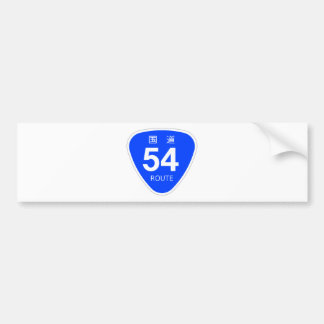 National highway 54 line - national highway sign bumper stickers