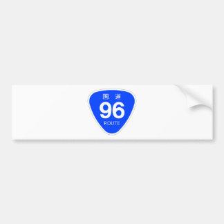 National highway 96 line - national highway sign bumper sticker