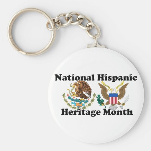National Hispanic Heritage Month - Eagles Keychains