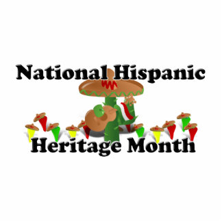 National Hispanic Heritage Month - Guitar Cut Outs