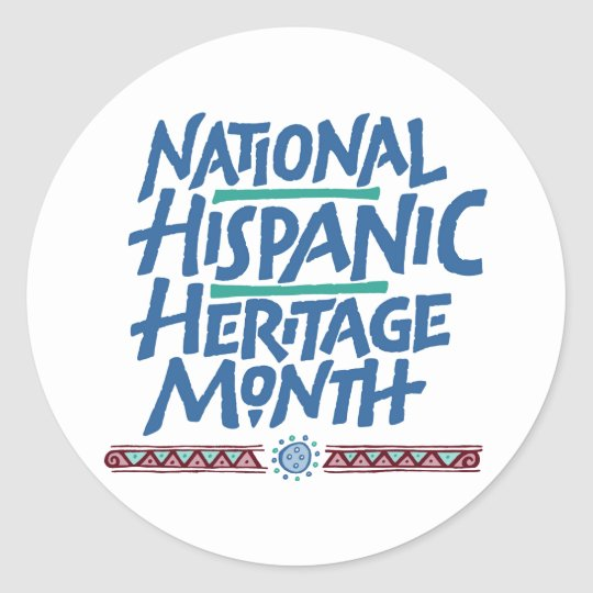 National Hispanic Heritage Month Sticker