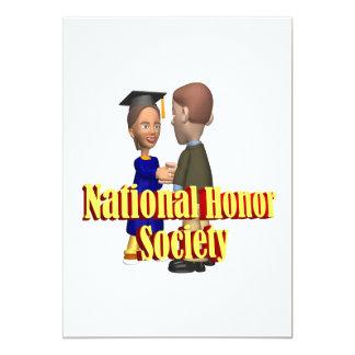 National Honor Society 13 Cm X 18 Cm Invitation Card