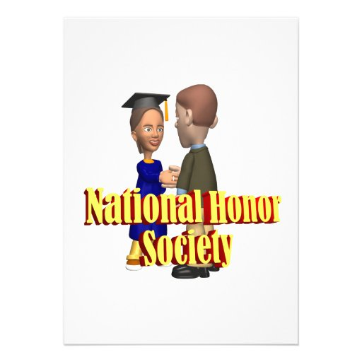 National Honor Society Invitation
