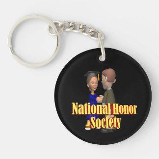 National Honor Society Key Ring