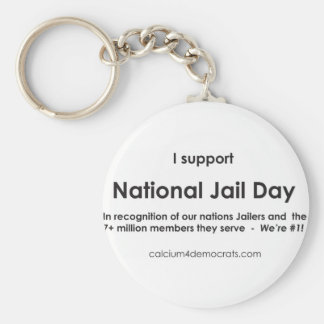 National Jail Day Keychain