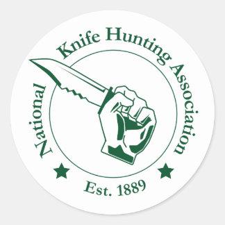 National Knife Hunting Association Sticker
