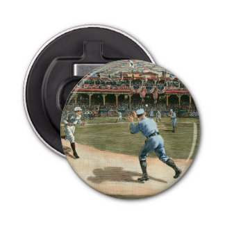 National League Baseball Game 1886 Bottle Opener