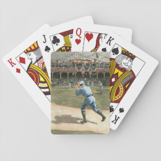 National League Baseball Game 1886 Playing Cards
