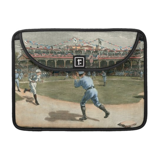 National League Baseball Game 1886 Sleeve For MacBook Pro