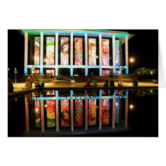 National Library - Canberra Greeting Card