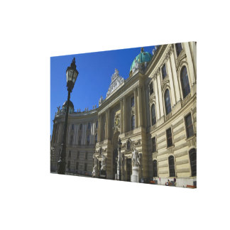 National Library, Hofburg (Imperial Palace) Canvas Print