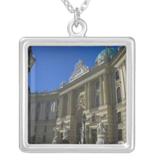 National Library, Hofburg (Imperial Palace) Silver Plated Necklace