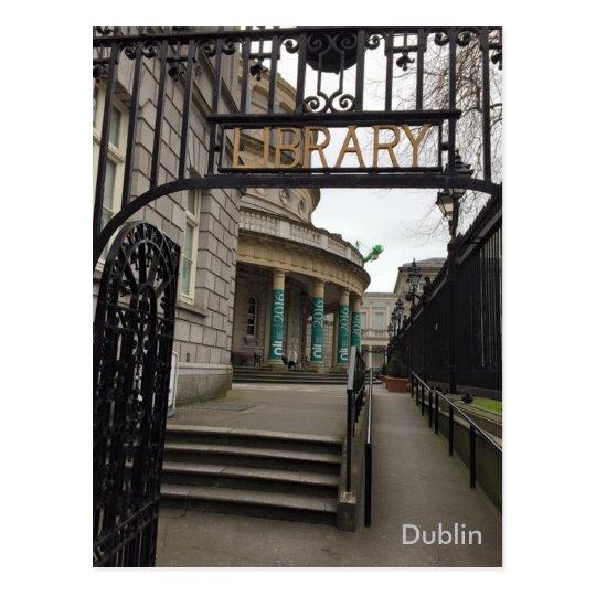 National Library of Ireland, Dublin, Ireland Postcard