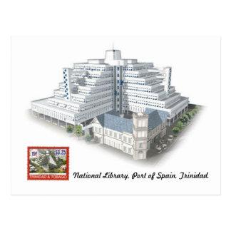 National Library, Port of Spain, Trinidad Postcard