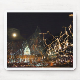 National Mall celebrating holiday photo Mouse Pad