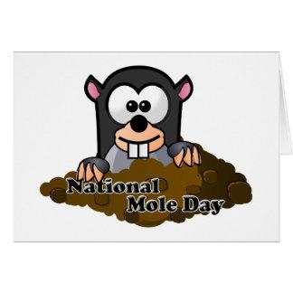National Mole Day Card