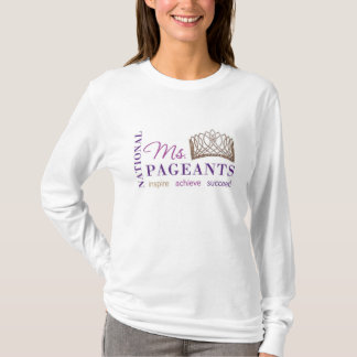 NATIONAL MS PAGEANTS LOGO LONG SLEEVE SHIRT