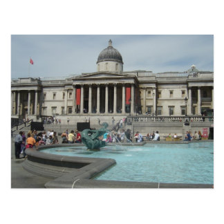 National Museum - Trafalgar Square Postcard