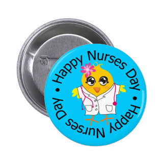 National Nurses Day - Nurses 6 Cm Round Badge