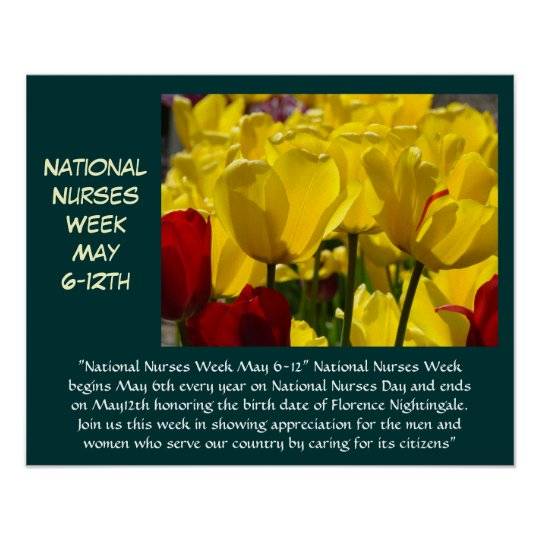 National Nurses Week Celebration posters prints