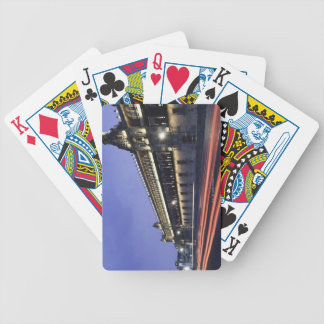 National Palace at Night Bicycle Playing Cards