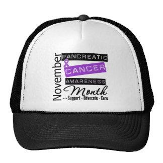 National Pancreatic Cancer Awareness Month Trucker Hat