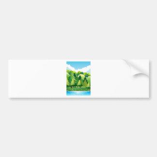 National Park Bumper Sticker