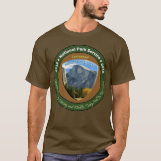 National Park Centennial Shirt Brown Half Dome