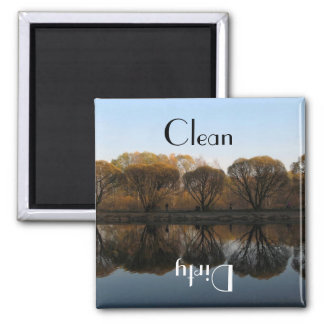 National Park Clean Dirty Dishwasher Magnet