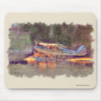 National Park Float Plane Taking-off from Lake Mouse Mat