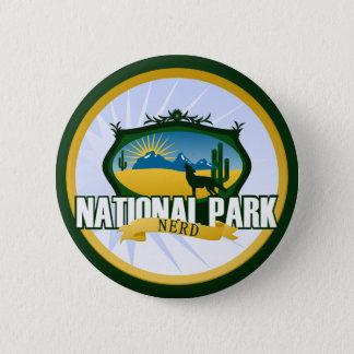 National Park Nerd - Desert 6 Cm Round Badge