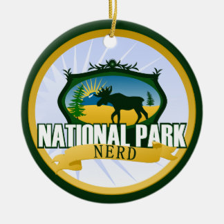 National Park Nerd - Woodland Christmas Ornament