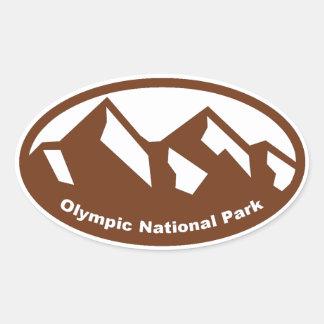 National Park Oval Sticker