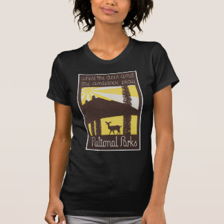 National Parks Deer and Antelope T-shirt
