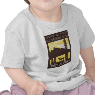 National Parks Deer and Antelope Shirts