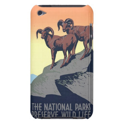 National Parks Poster 1939 iPod Touch Cases