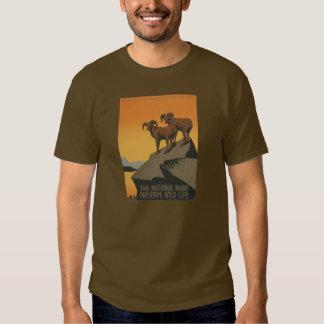 National Parks Preserve Vintage Ad. T-shirt