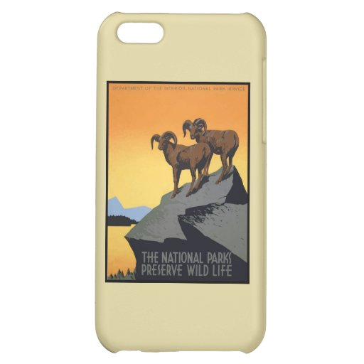 National Parks Preserve Wild Life Cover For iPhone 5C