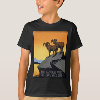 National Parks Preserve Wild Life T-Shirt
