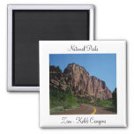 National Parks - Zion - Kolob Canyons Magnet
