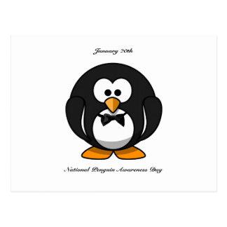 National Penguin Awareness Day Postcard